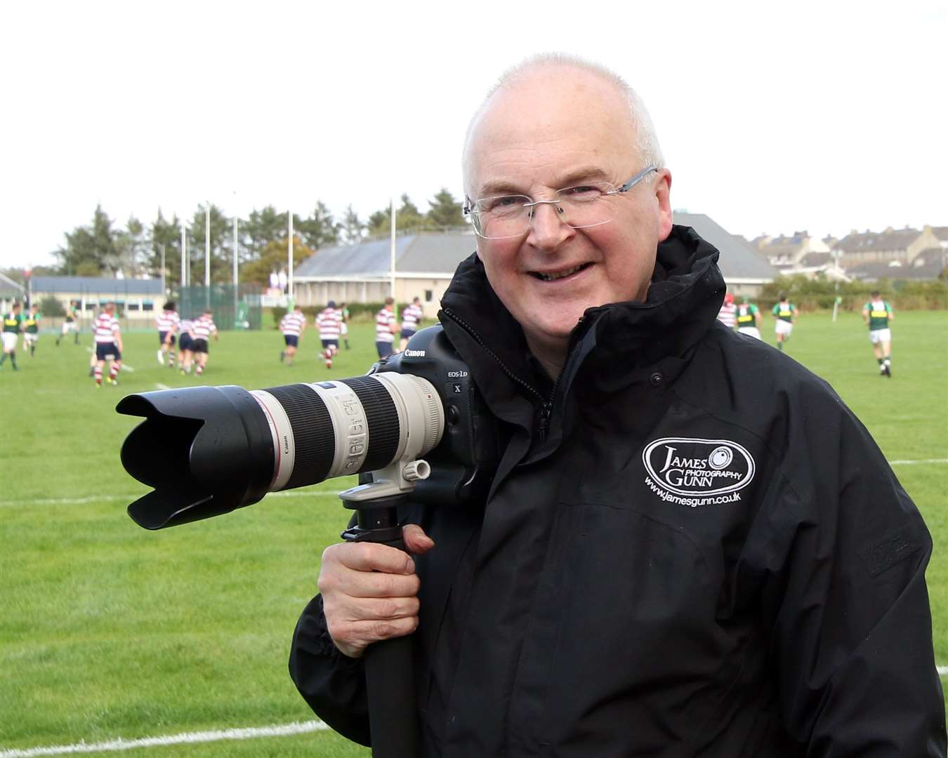 James at the Millbank rugby ground in Thurso to cover a Caithness home game.