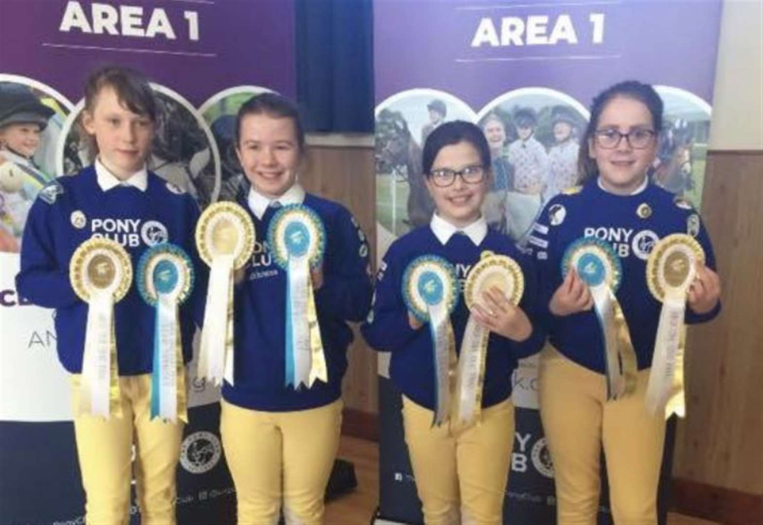 Caithness members impress in in Pony Club quiz competition