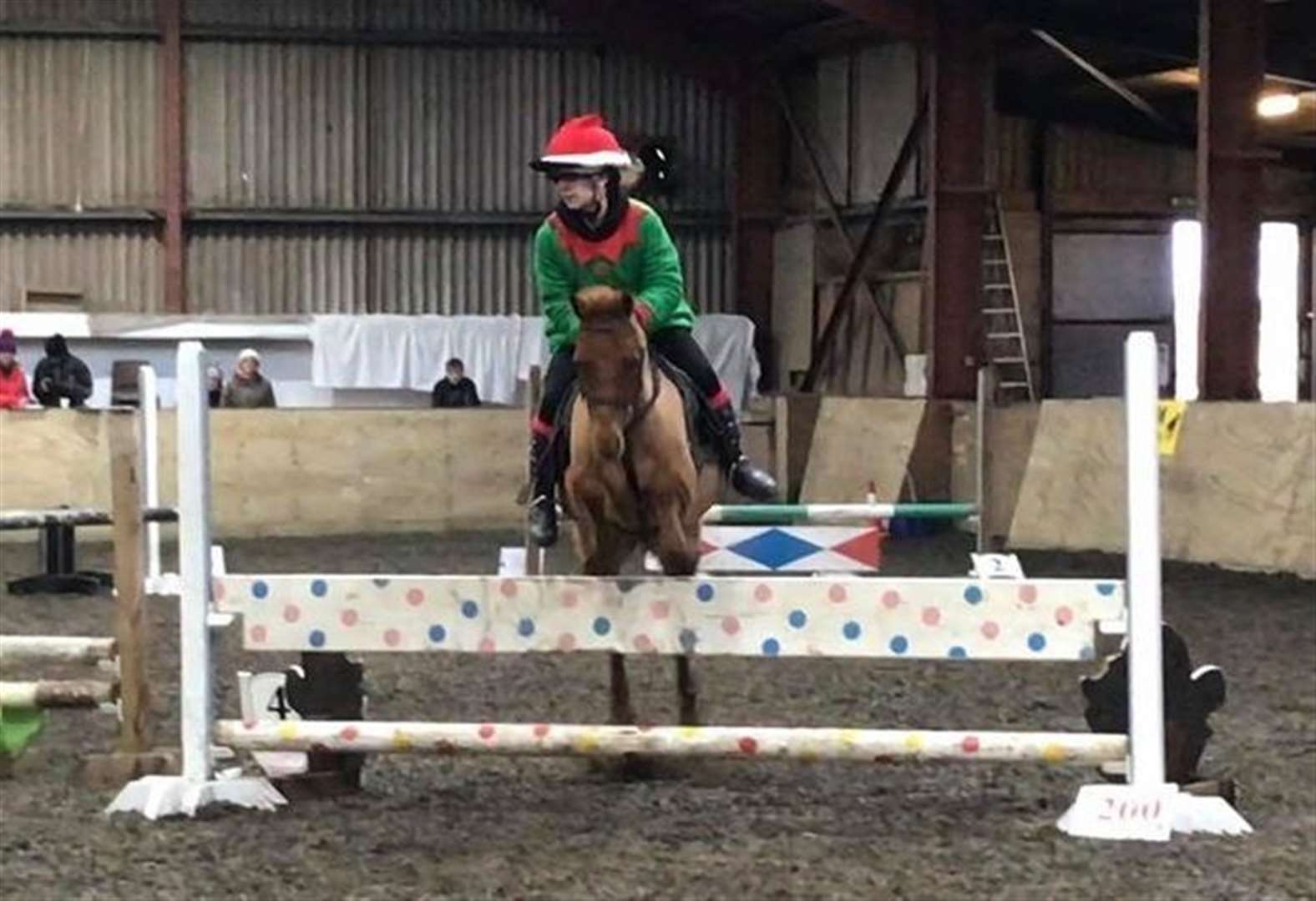 Riders get in the festive spirit at Halkirk