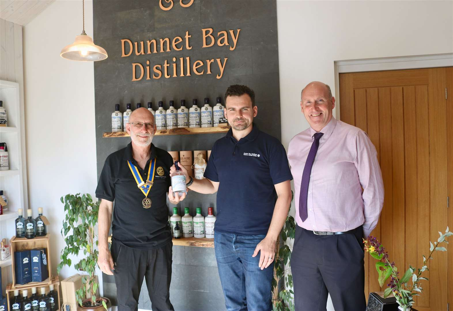 Limited-edition gin to support Thurso Rotary fundraising
