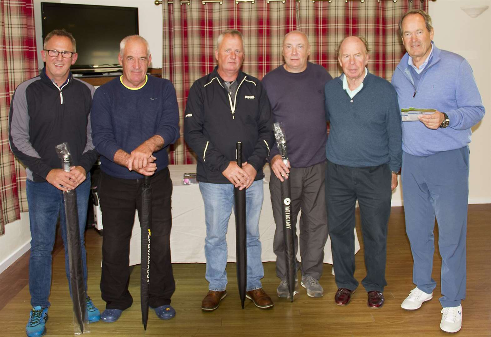 Home team's success in Texas Scramble at Reay
