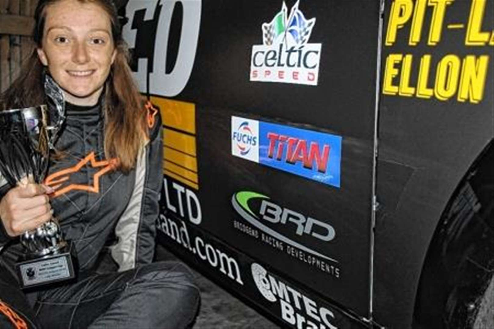 Ashleigh on track for motorsport glory