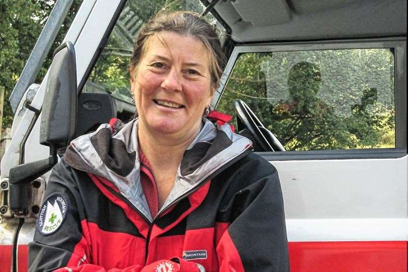 Assynt Mountain Rescue Team leader Sue Agnew says the new radios will speed up call-out times.