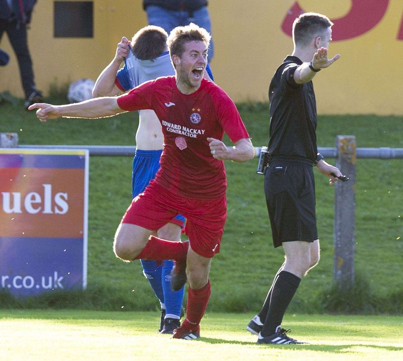 Martin Maclean scored the winner.
