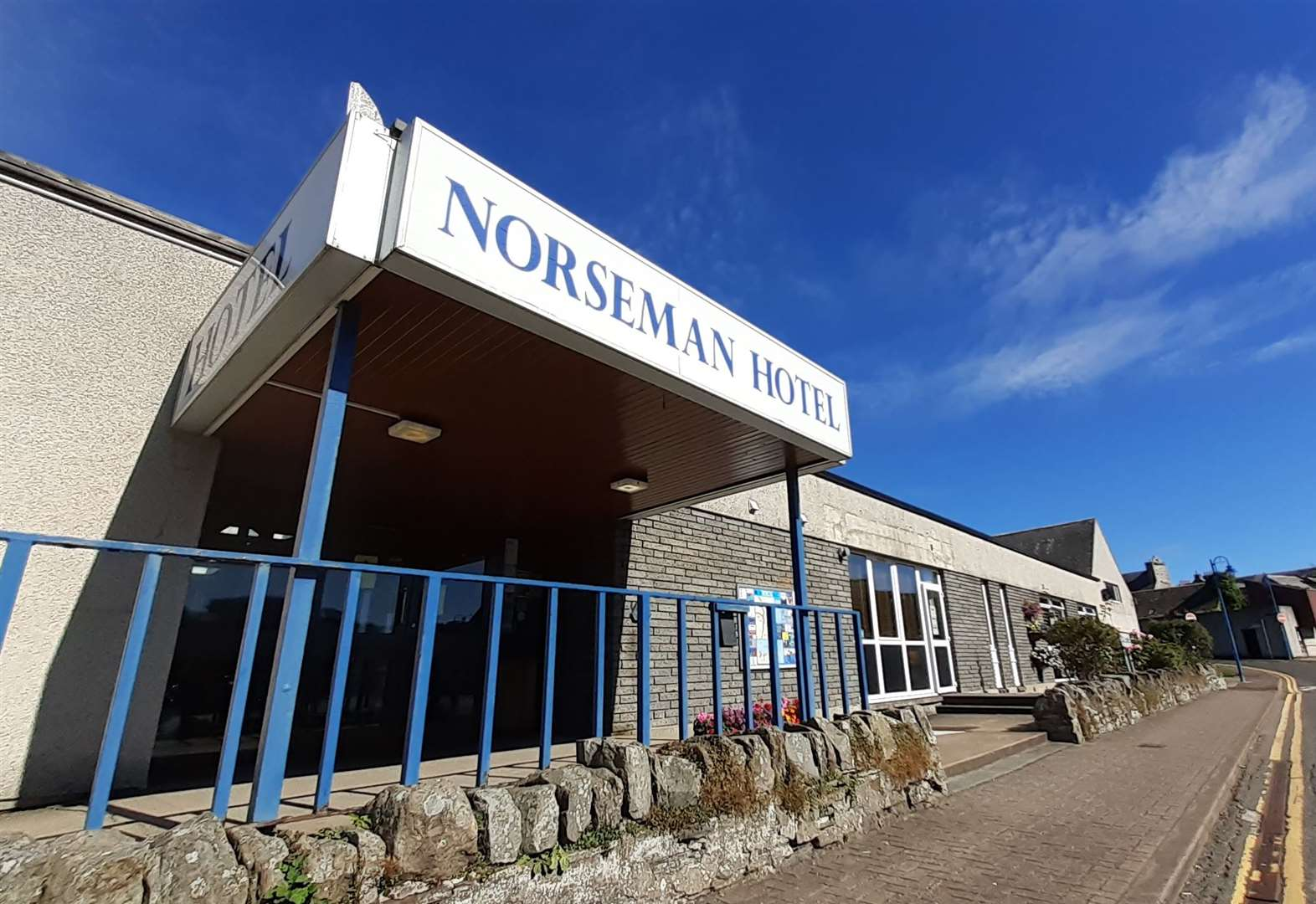 The Norseman Hotel, Wick, is lucky to have had some key workers staying there recently.