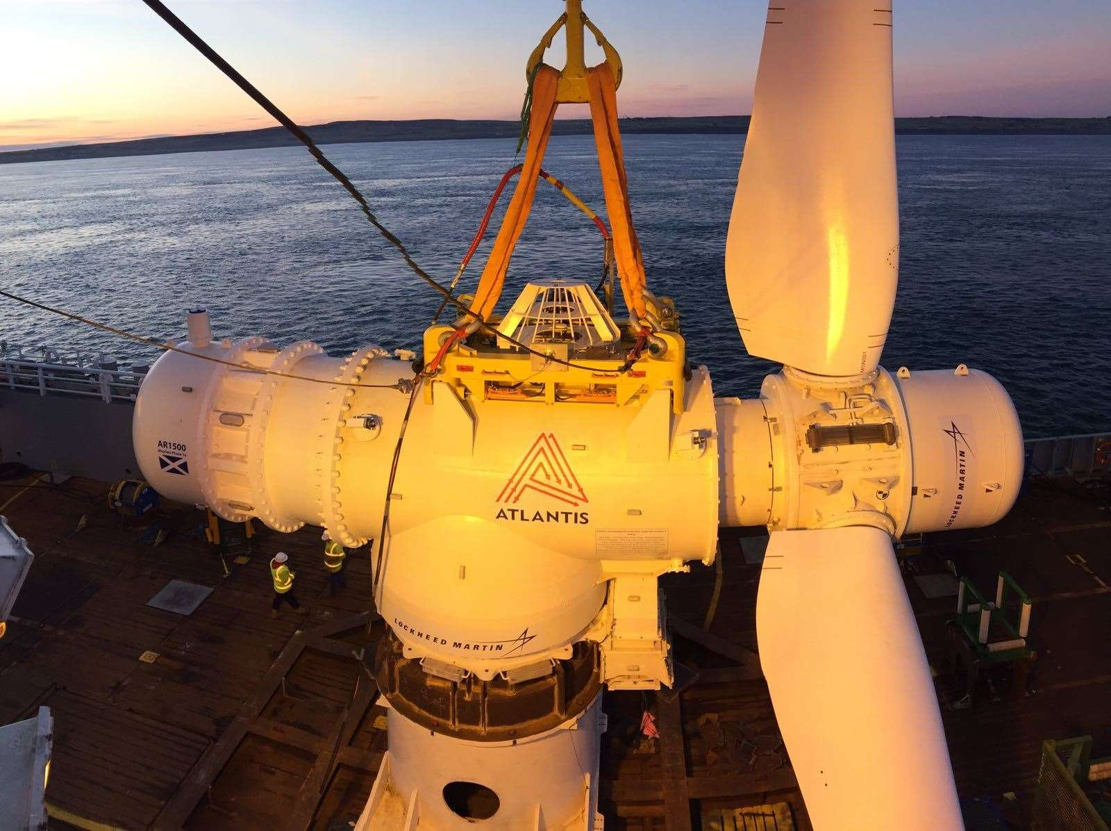 Energy from MeyGen could power the data centre