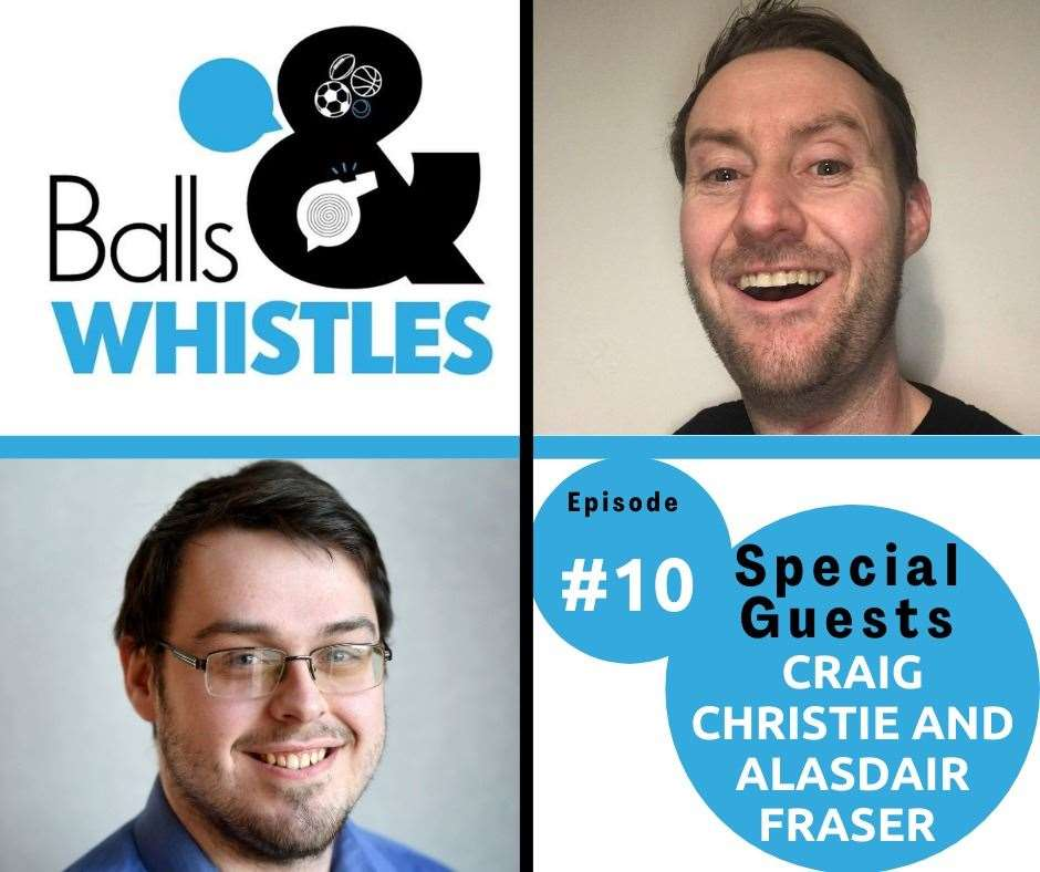 Listen to episode 10 of Balls & Whistles now!