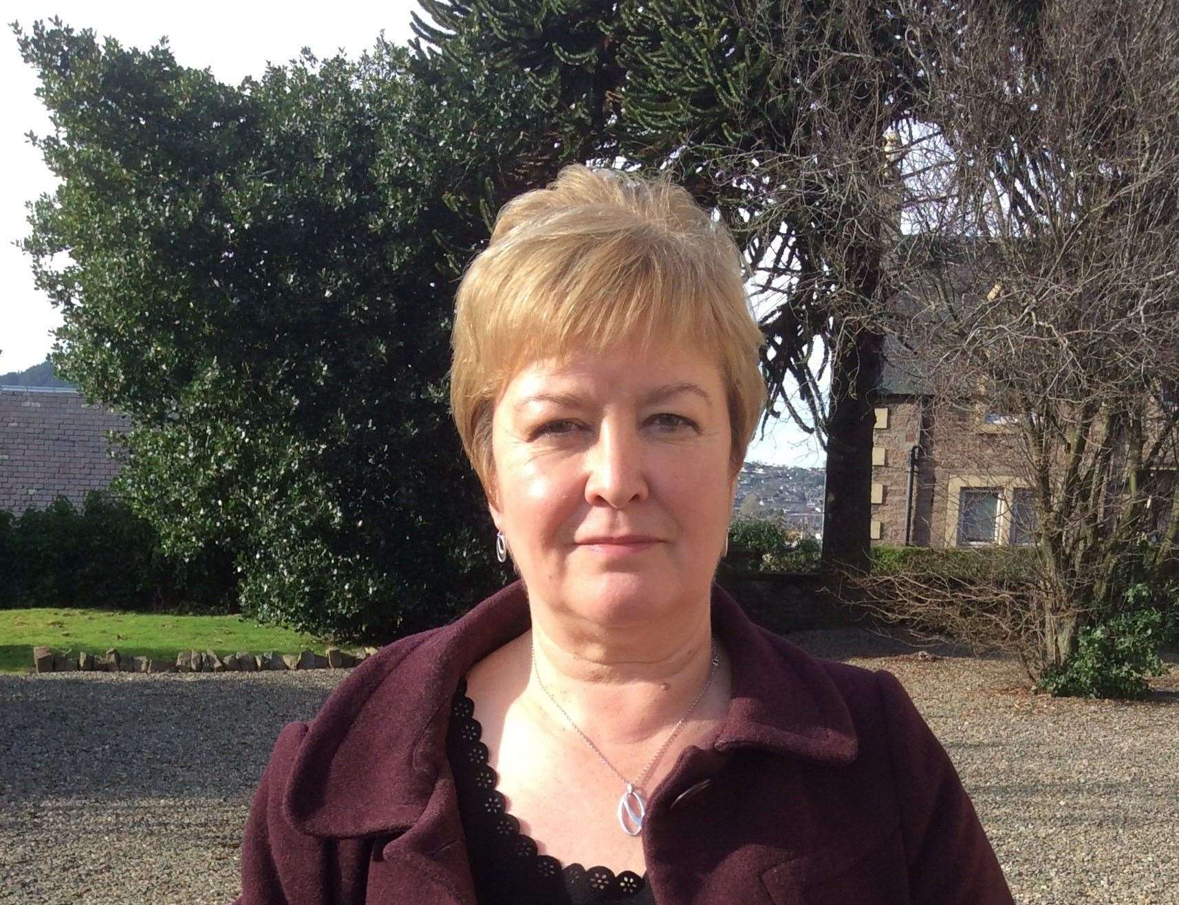 Rhoda Grant is unhappy Highland Council is being starved of funding for road repairs