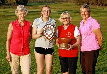 Thurso Golf Club Ladies' Club Championship, Eileen Manson, Thurso Golf Club, Golf
