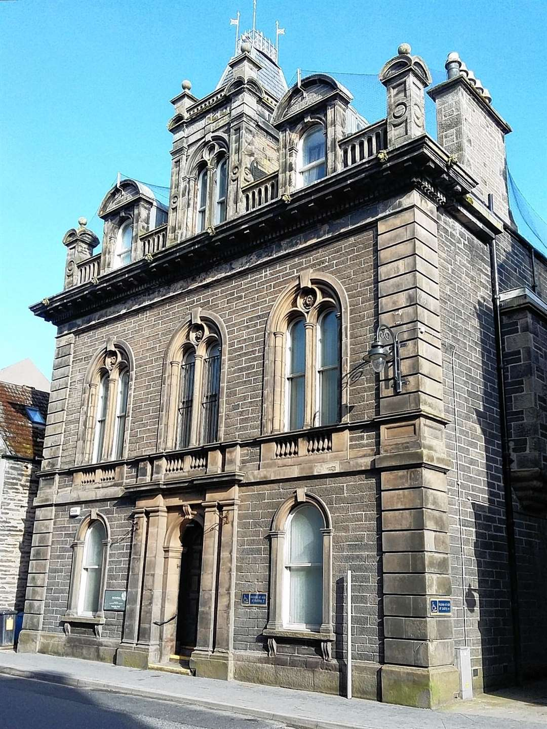 The trial is taking place at Wick Sheriff Court