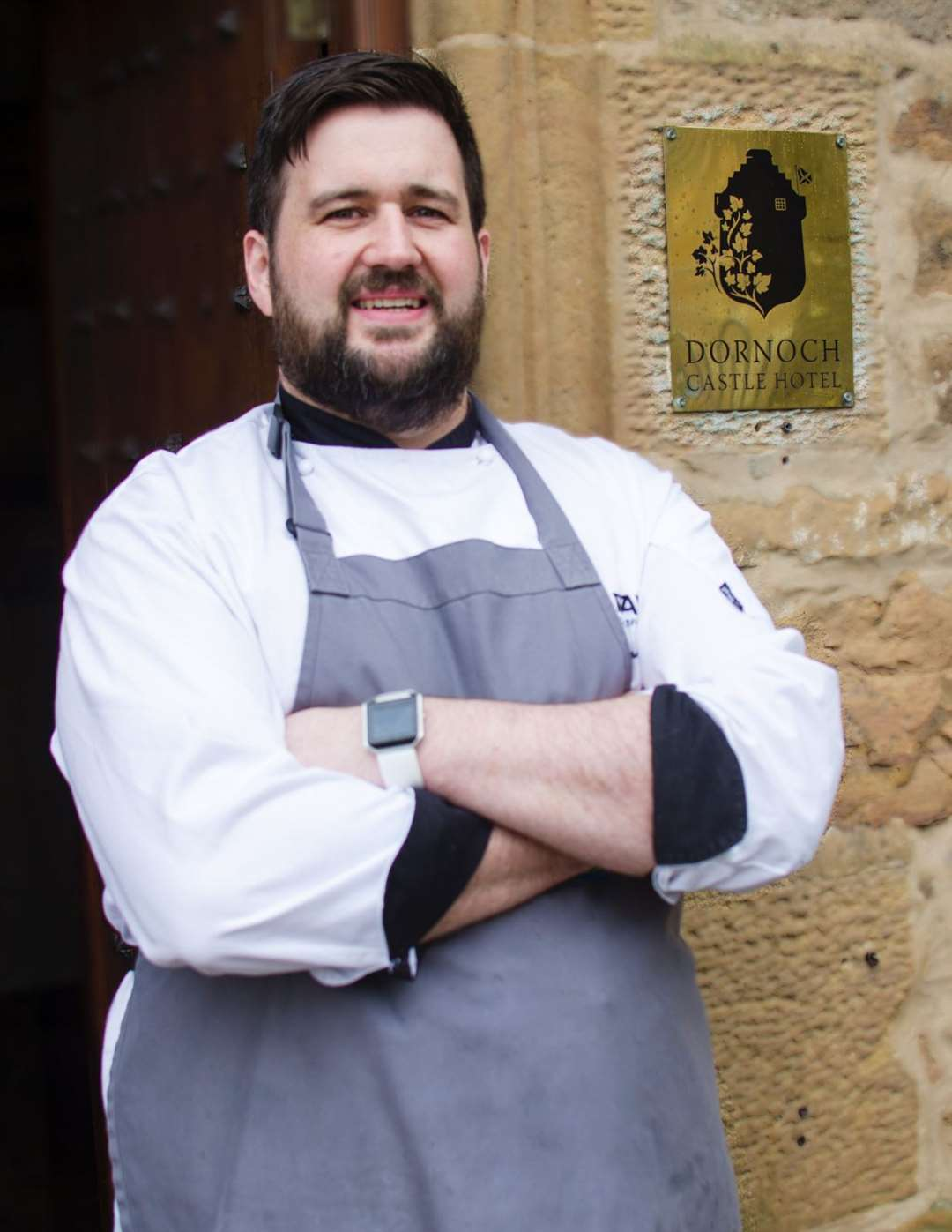 Head chef Grant Macnicol has put his name on the 55-seater restaurant at the Dornoch Castle Hotel.