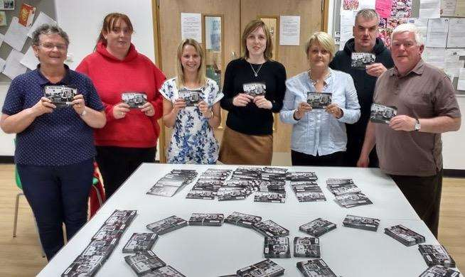 CHAT campaigns with postcards they will send to Holyrood