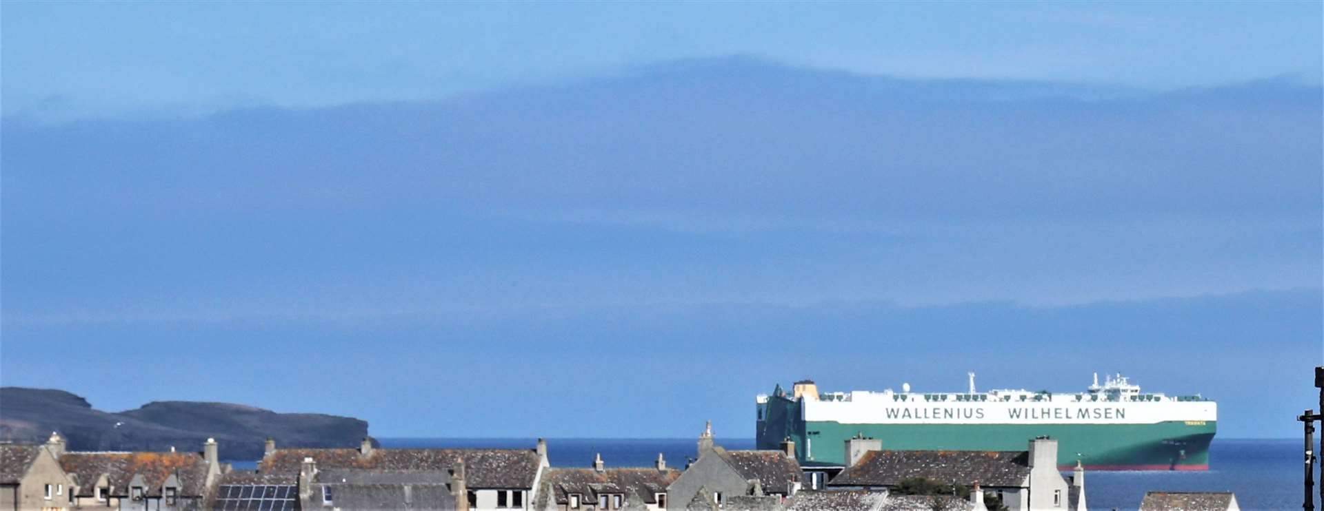The Traviata photographed from Thurso. Picture: Alan McIvor