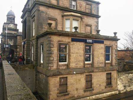 The Royal Bank of Scotland branch on Bridge Street in Wick faces closure.